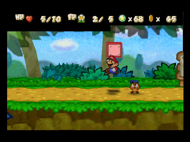 Paper Mario - Level  - Goombario: I